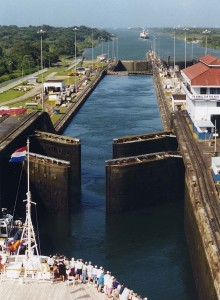 Panama City Gatun Locks