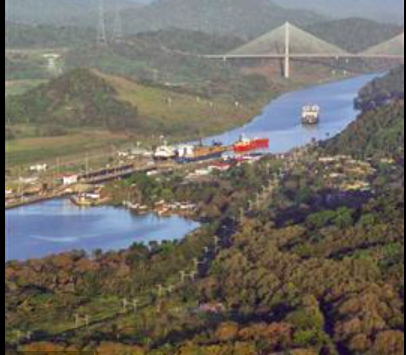 Centennial Bridge crossing Panama Canal